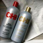 CHI Infra shampoo en CHI Keratin shampoo