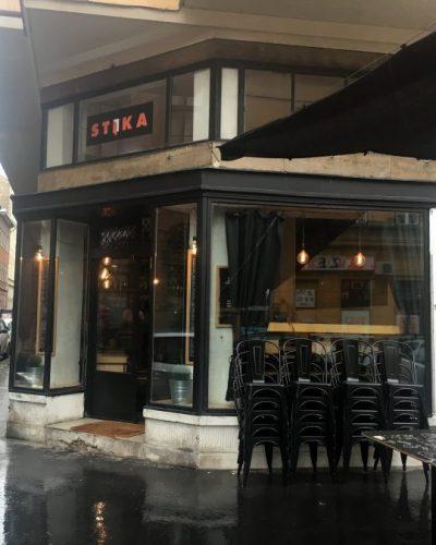 Boedapest Stika Cafe ontbijt
