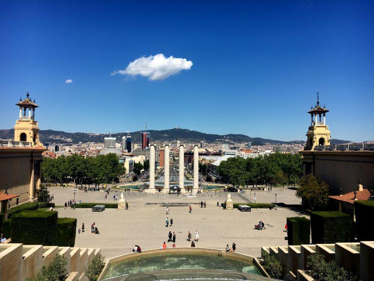 Uitzicht over Barcelona!