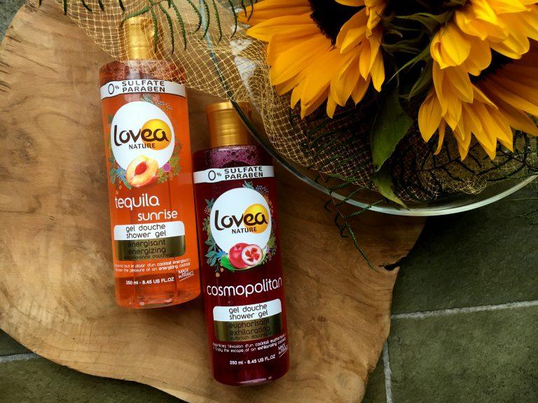 Lovea Tequila Sunrise en Cosmopolitan gel douche