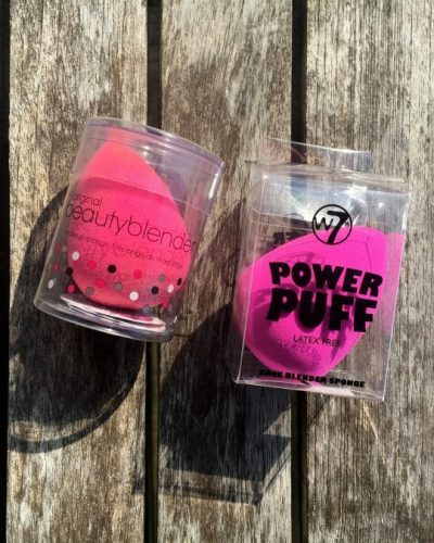 Battle: The Original Beautyblender VS. W7 Power Puff