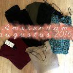 Shoplog Amsterdam augustus 2016