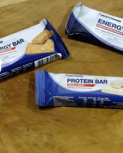 Action Bodymass Energy Gel, Protein Bar en Energy Bar