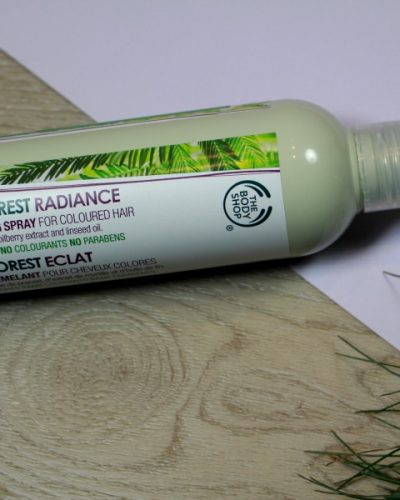 The Body Shop Rainforest Radiance Detangling Spray