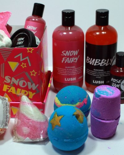 Shoplog Essen + Lush Sale december 2016