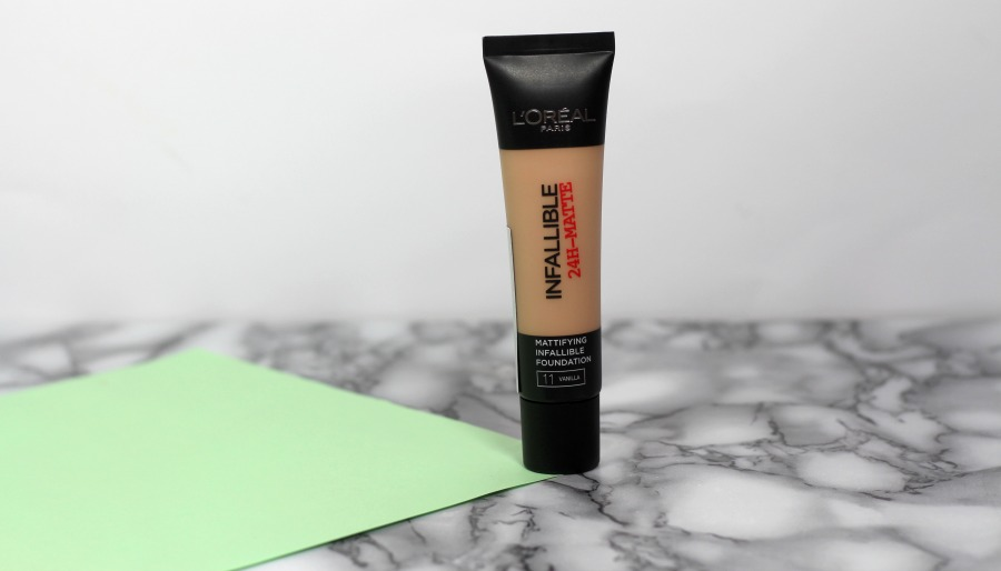 L'Oréal Infallible 24H-Matte foundation