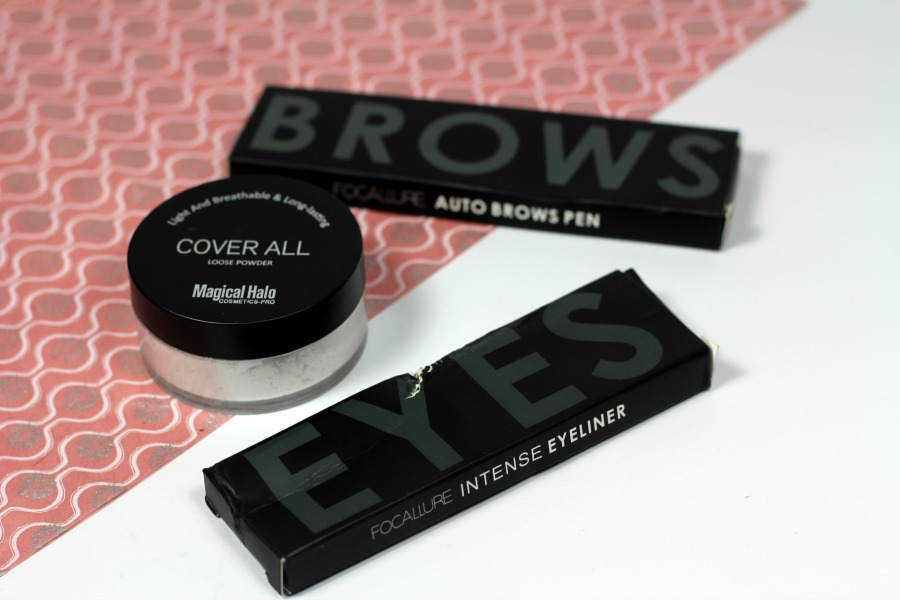 BeautyBigBang review: Cover All Loose Powder, Liquid Eyeliner en Eyebrow Pencil + Kortingscode!