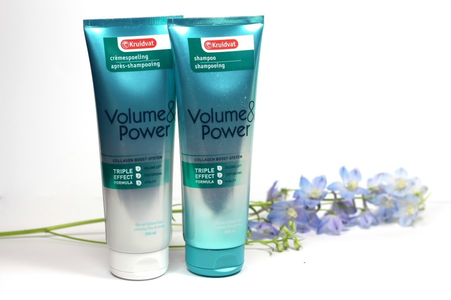 Kruidvat Volume&Power Shampoo en Conditioner