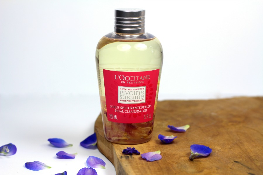 L'Occitane Pivoine Sublime Petal Cleansing Oil