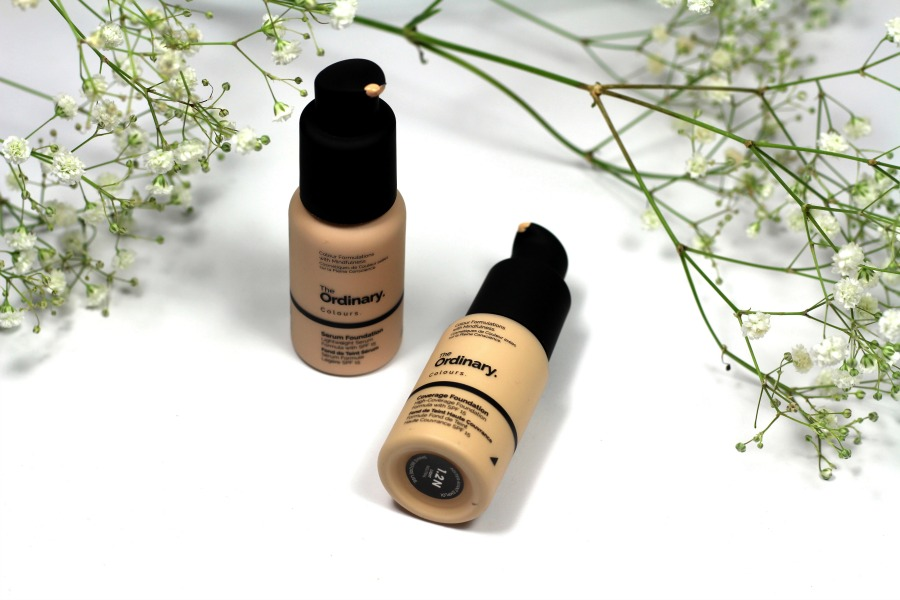 The Ordinary Serum Foundation en The Ordinary Coverage Foundation