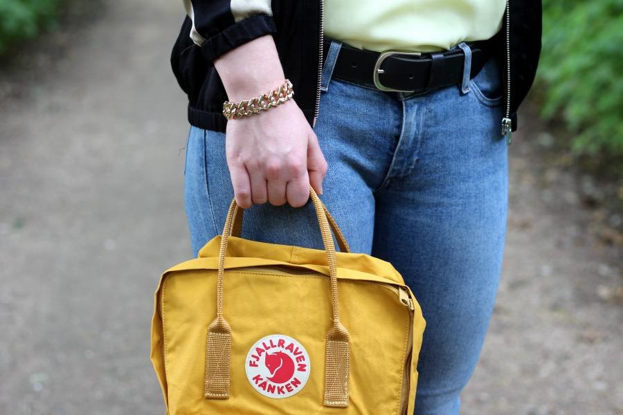 Outfit: Ocre Fjällräven Bag