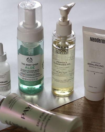 Mijn huidverzorgingsroutine (februari 2018)