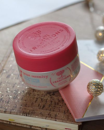 Treets Traditions Pure Serenity Shimmering Body Cream Yuzu & Cherry Blossom