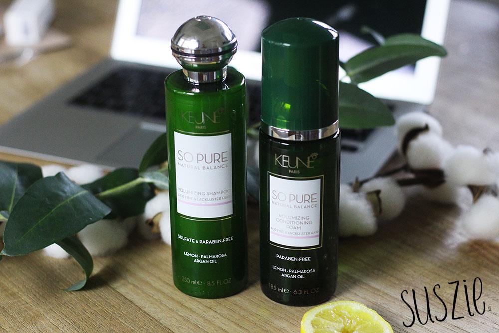 Keune So Pure Volumizing Shampoo en Conditioner