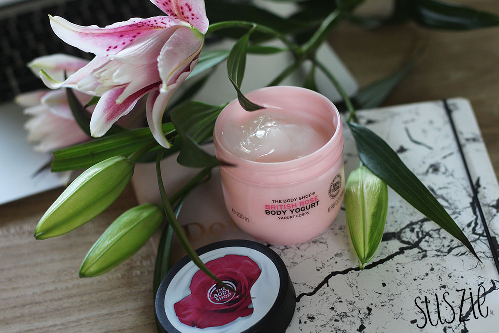 The Body Shop Body Yogurt British Rose