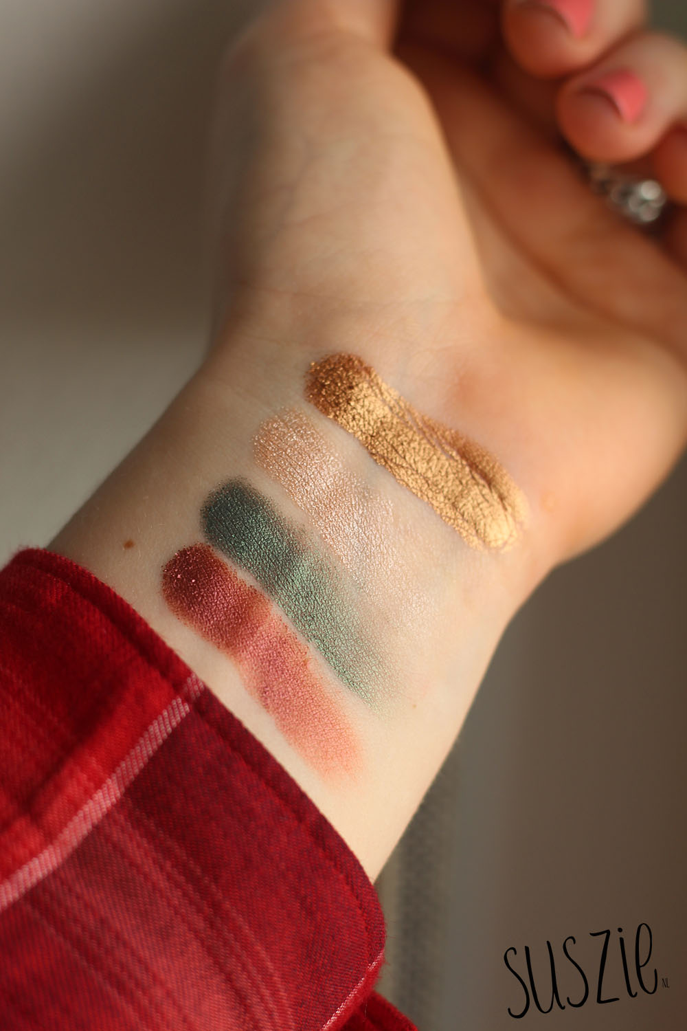 Christian Faye Quattro Eyeshadow Green