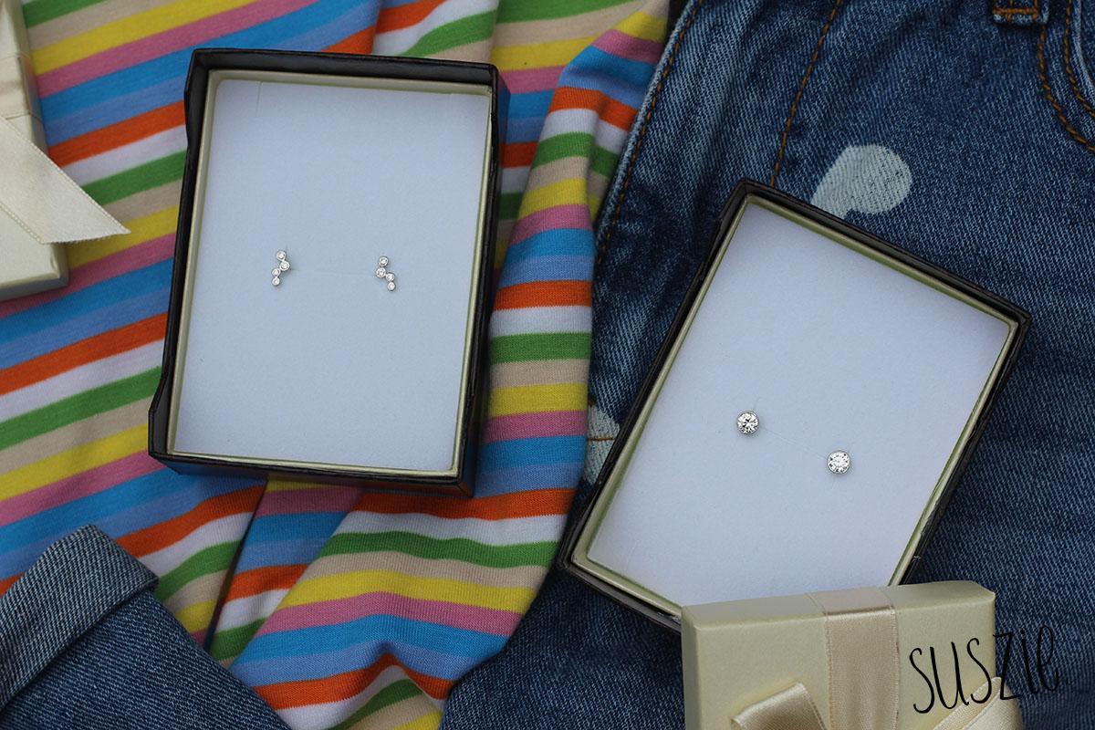 Witgouden oorbellen van Mostert Juweliers