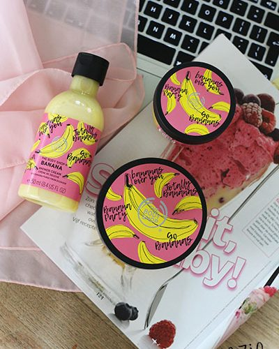 The Body Shop Go Banana's lijn