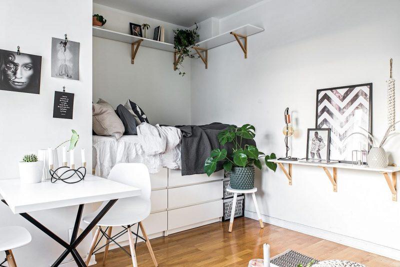 Een bed maken van IKEA malm kast
