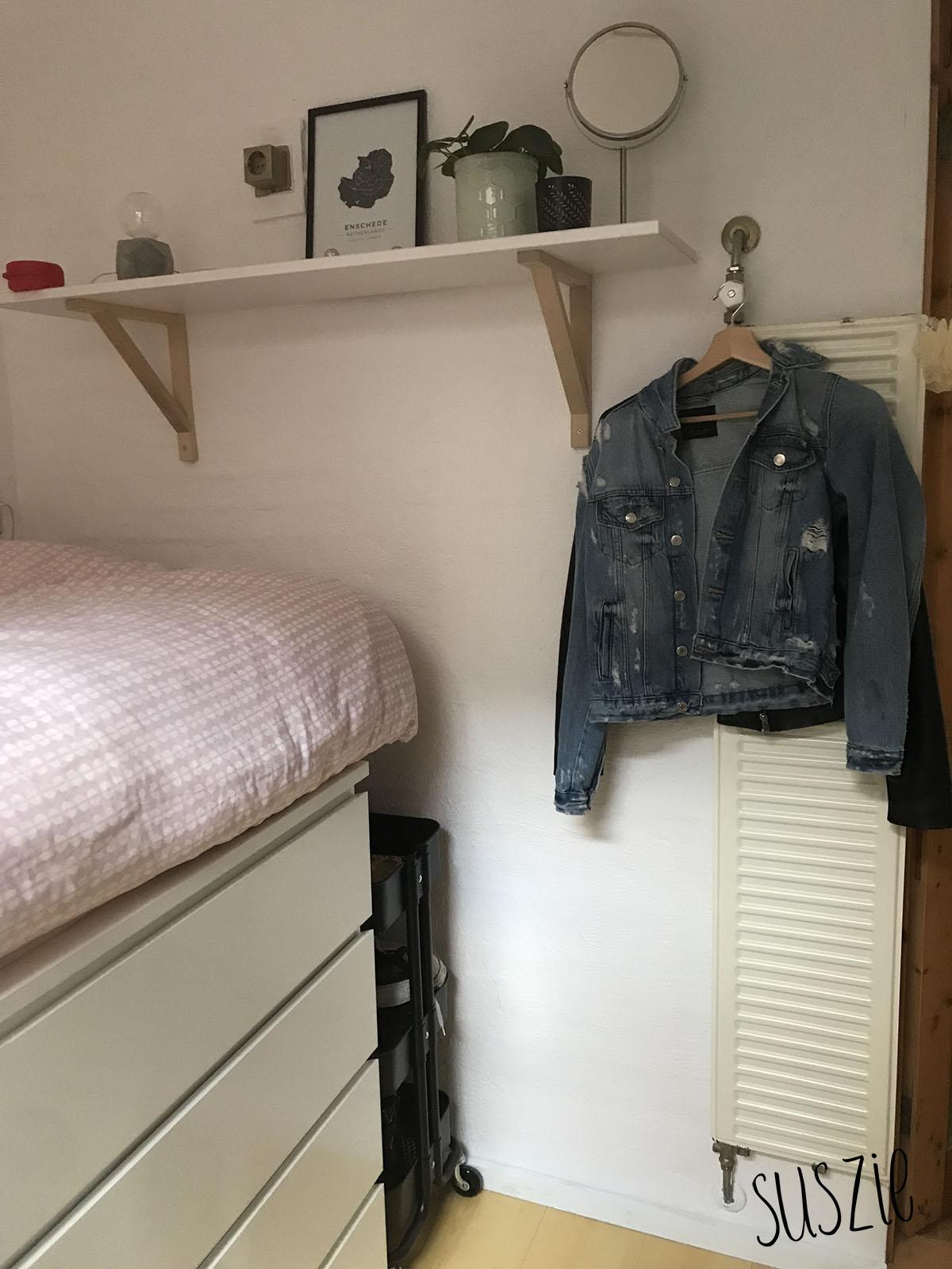 Een bed maken van IKEA malm kast (+roomtour!)