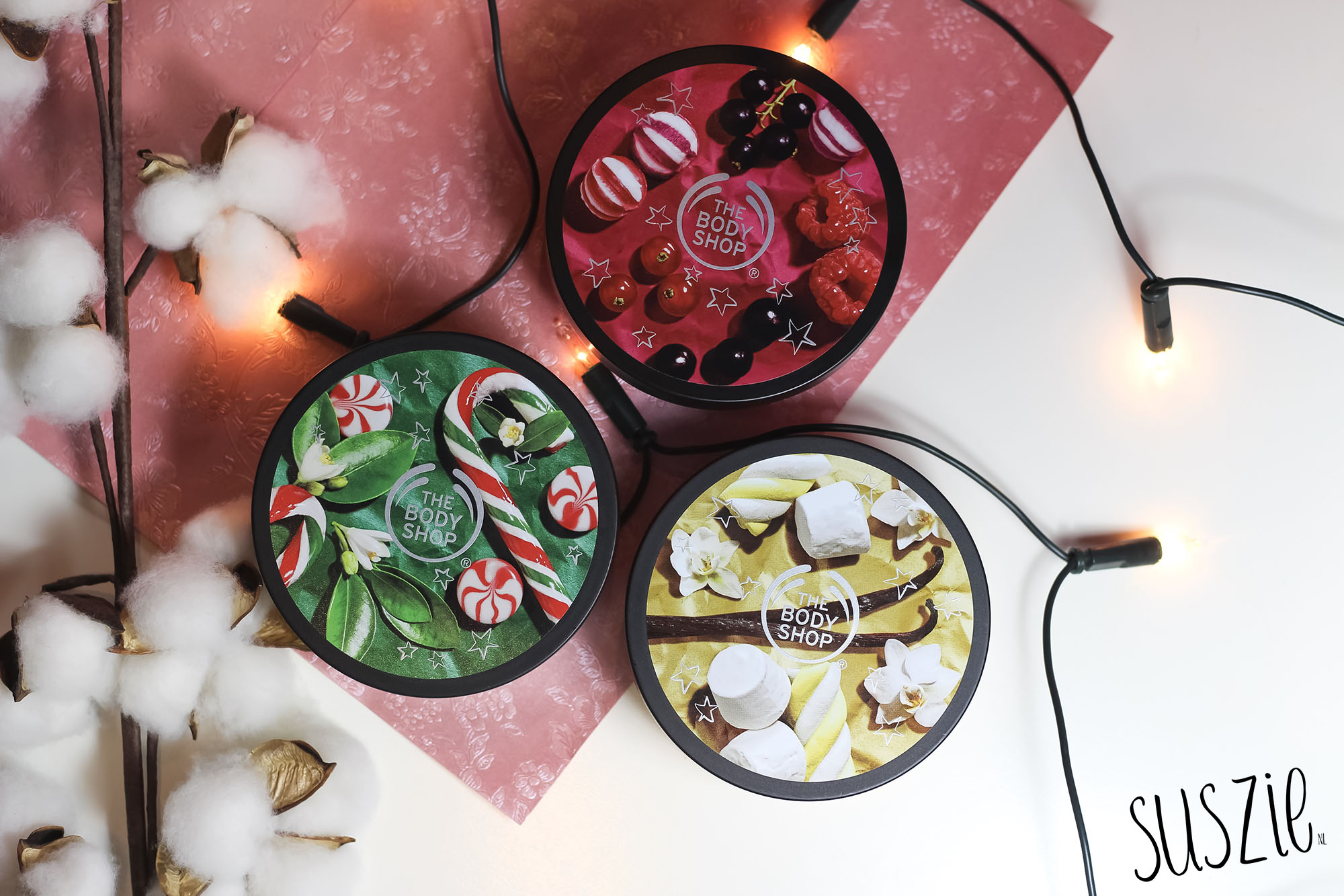 The Body Shop body butters kerst 2018