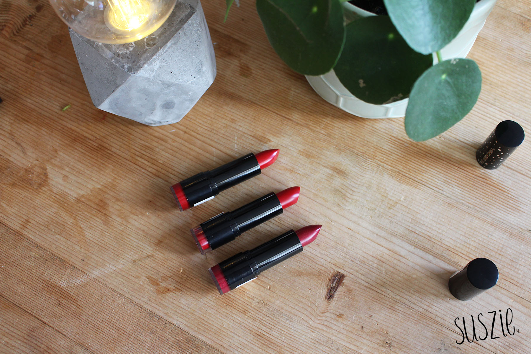 The Body Shop Autumn 2018 lipsticks
