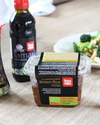 Nieuwe Lima Food producten: Rice Miso, Yuzu Pepper paste en soya saus