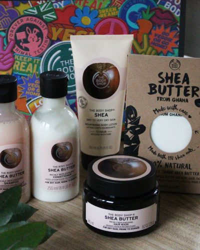 The Body Shop Shea Butter haarverzorging